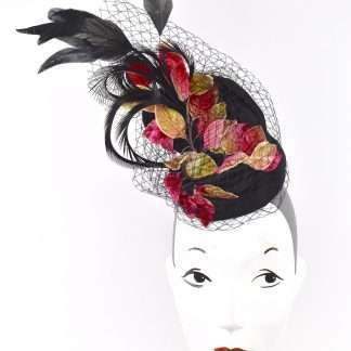 Over the top feathered Stylish event headpiece